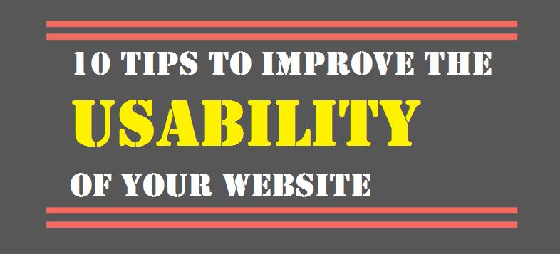 10 Tips Usability