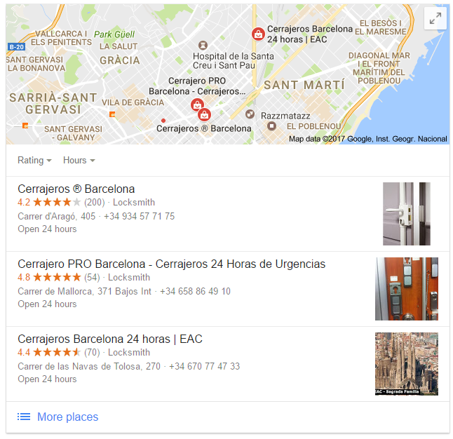 Locksmith Barcelona