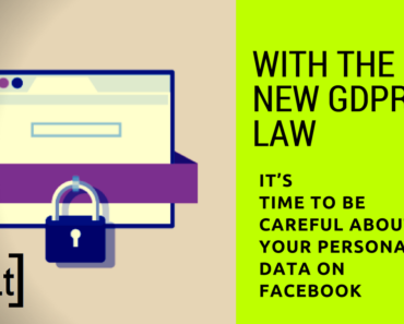 With the new GDPR law, it's time to be careful about your personal data on Facebook