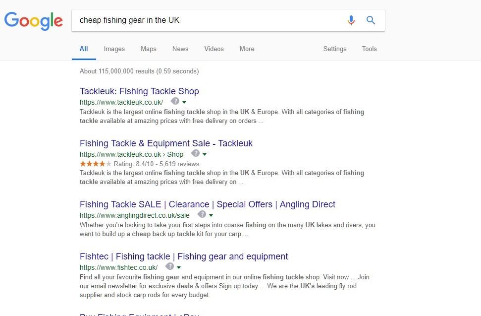 Fishing Gear UK