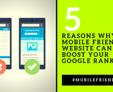 5 Reasons Why A Mobile Friendly Website Can Help Boost Your Google Ranking