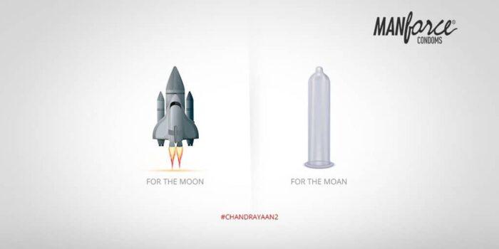 Manforce Condom Chandrayaan 2