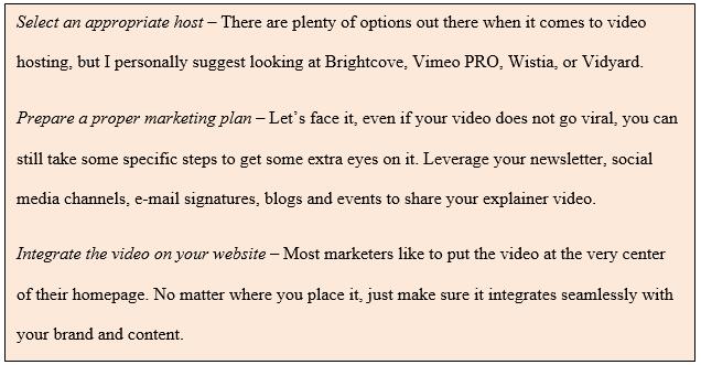 Explainer Videos Strategies