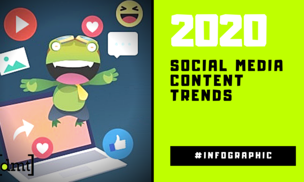 Social Media Content Trends for 2020 Infographic