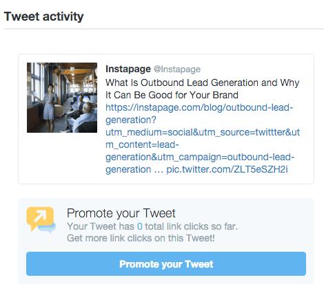 Promote Your Tweet